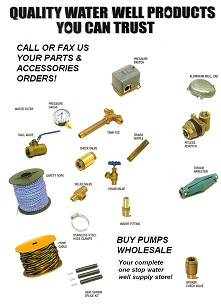 Parts & Accessories at BuyPumpsWholesale.com